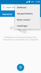 Alcatel OneTouch POP 3 (5) 3G (OT-5015X) - Voicemail - Handmatig instellen - Stap 5
