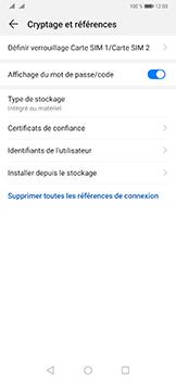 Huawei Mate 20 Pro - Sécurité - modifier SIM PIN - Étape 6