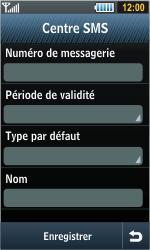 Samsung S8000 Jet - SMS - configuration manuelle - Étape 8