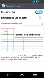 LG G2 - Internet - Ver uso de datos - Paso 6