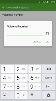 Samsung N920 Galaxy Note 5 - Voicemail - Manual configuration - Step 9
