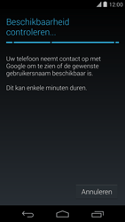 Google Nexus 5 - Applicaties - Account aanmaken - Stap 9
