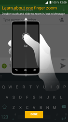 Alcatel Shine Lite - Mms - Sending a picture message - Step 5