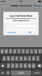 Apple iPhone 5 (iOS 8) - apps - account instellen - stap 26