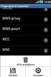 Samsung S5830 Galaxy Ace - MMS - handmatig instellen - Stap 11