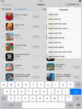 Apple iPad Air (Retina) met iOS 7 - Applicaties - Downloaden - Stap 11