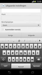 Sony LT30p Xperia T - E-mail - Handmatig instellen - Stap 12