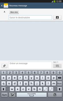 Samsung Galaxy Tab 3 8 4G - Contact, Appels, SMS/MMS - Envoyer un SMS - Étape 9