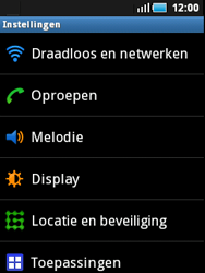 Samsung S5570 Galaxy Mini - Internet - buitenland - Stap 4