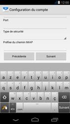 Acer Liquid Jade Z - E-mail - Configuration manuelle - Étape 9