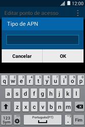 Samsung Galaxy Young II - Internet no telemóvel - Como configurar ligação à internet -  13