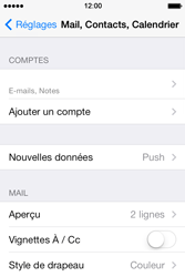 Apple iPhone 4 S iOS 7 - E-mail - Configuration manuelle - Étape 16