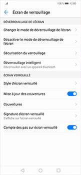 Huawei Mate 20 lite - Sécuriser votre mobile - Activer le code de verrouillage - Étape 9
