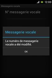 Sony C1505 Xperia E - Messagerie vocale - Configuration manuelle - Étape 8