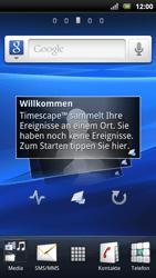 Sony Ericsson Xperia arc S - Internet - Internetverbindung - Automatische Einstellung - Schritt 1