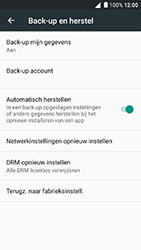Alcatel Shine Lite - Device maintenance - Back up - Stap 10