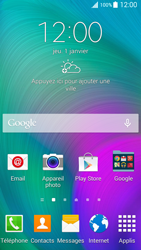 Samsung Galaxy A5 (A500FU) - Applications - Supprimer une application - Étape 1