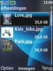 Nokia 6600 slide - E-mail - Hoe te versturen - Stap 15