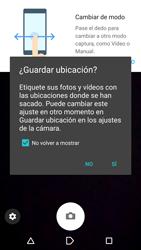 Sony Xperia X - Funciones básicas - Uso de la camára - Paso 4