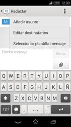 Sony D2203 Xperia E3 - Mensajería - Escribir y enviar un mensaje multimedia - Paso 11