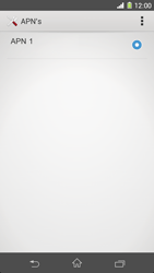 Sony Xperia Z1 4G (C6903) - Internet - Handmatig instellen - Stap 8