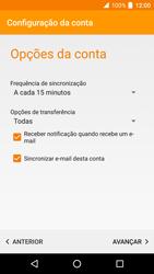 Alcatel Idol 4 VR - Email - Configurar a conta de Email -  22