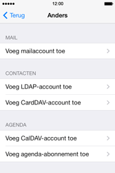 Apple iPhone 4S iOS 8 - E-mail - handmatig instellen - Stap 6