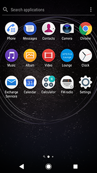 Sony Xperia XA2 Ultra - Internet - Internet browsing - Step 2