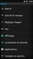 Sony ST25i Xperia U - Internet - Activer ou désactiver - Étape 4
