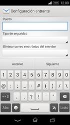 Sony D2203 Xperia E3 - E-mail - Configurar correo electrónico - Paso 10