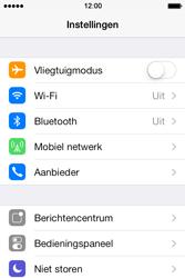 Apple iPhone 4 S iOS 7 - Netwerk - Wijzig netwerkmodus - Stap 3