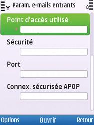 Nokia C5-00 - E-mail - Configuration manuelle - Étape 19