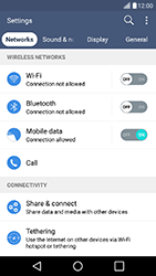 LG K10 4G K420 - WiFi and Bluetooth - Manual configuration - Step 4