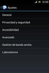 Sony Xperia E - Internet - Configurar Internet - Paso 22