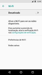 Motorola Moto X4 - Wi-Fi - Como configurar uma rede wi fi - Etapa 6
