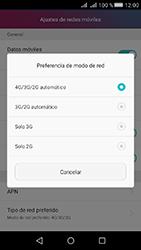 Huawei Y5 II - Red - Seleccionar el tipo de red - Paso 6