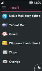 Nokia Asha 311 - E-mail - Handmatig instellen - Stap 6