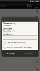 HTC S720e One X - Wifi - handmatig instellen - Stap 7