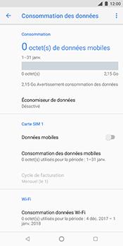 Nokia 7 Plus - Internet et connexion - Désactiver la connexion Internet - Étape 8