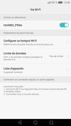 Huawei P9 Lite - Internet et connexion - Partager votre connexion en Wi-Fi - Étape 11