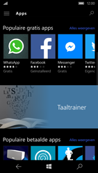 Microsoft Lumia 650 - Applicaties - Downloaden - Stap 7