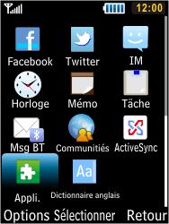Samsung S5610 Primo - Bluetooth - connexion Bluetooth - Étape 5