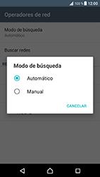 Sony Xperia XZ - Android Nougat - Red - Seleccionar una red - Paso 9