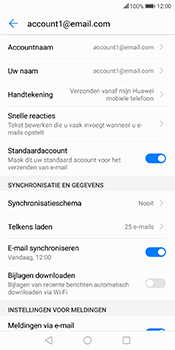 Huawei Mate 10 Lite (Model RNE-L21) - E-mail - Instellingen KPNMail controleren - Stap 7