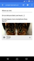 Sony Xperia X Compact - E-mail - envoyer un e-mail - Étape 14