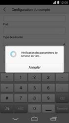 Huawei Ascend P7 - E-mail - Configuration manuelle - Étape 18