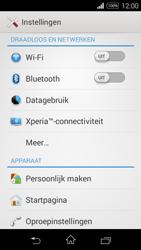 Sony D2203 Xperia E3 - Internet - Aan- of uitzetten - Stap 4