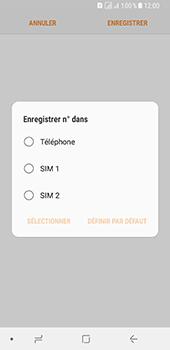 Samsung Galaxy A8 - Contact, Appels, SMS/MMS - Ajouter un contact - Étape 6