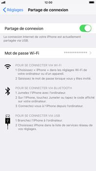 Apple iPhone 7 Plus - iOS 11 - Internet et connexion - Utiliser le mode modem par USB - Étape 7
