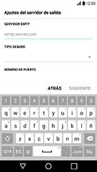 LG K10 (2017) - E-mail - Configurar correo electrónico - Paso 14
